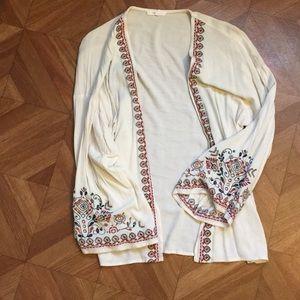 Embroidered kimono!